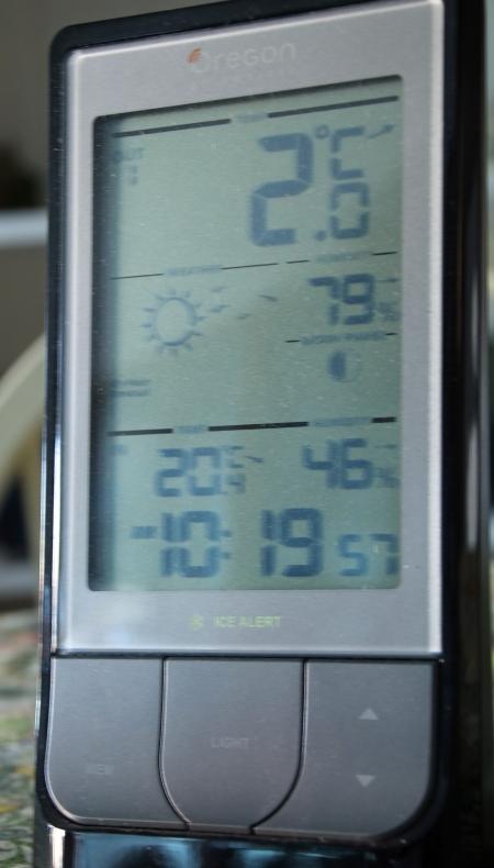 2 degrees